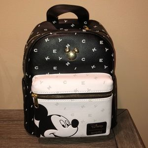 Disney Loungefly Mickey Mouse Mini Backpack NWT